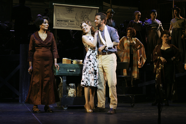 Leslie Uggams, Laura Osnes, Will Chase & Company Photo