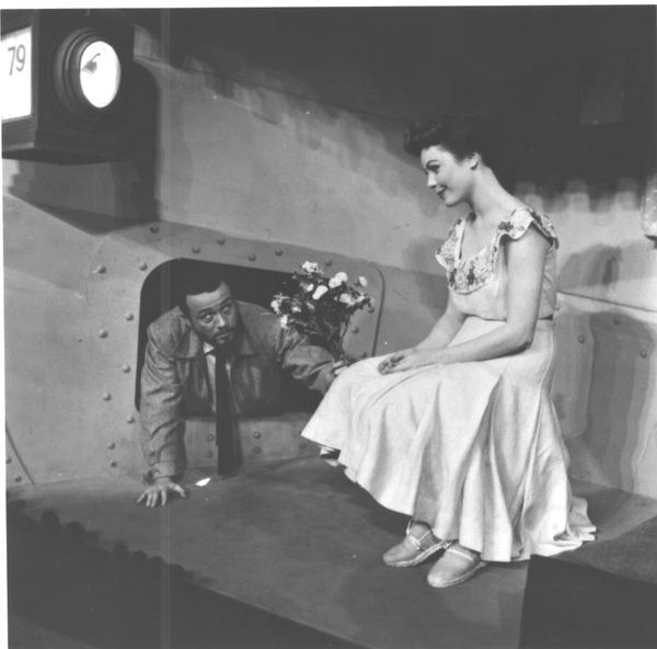 William Johnson and Judy Tyler Photo