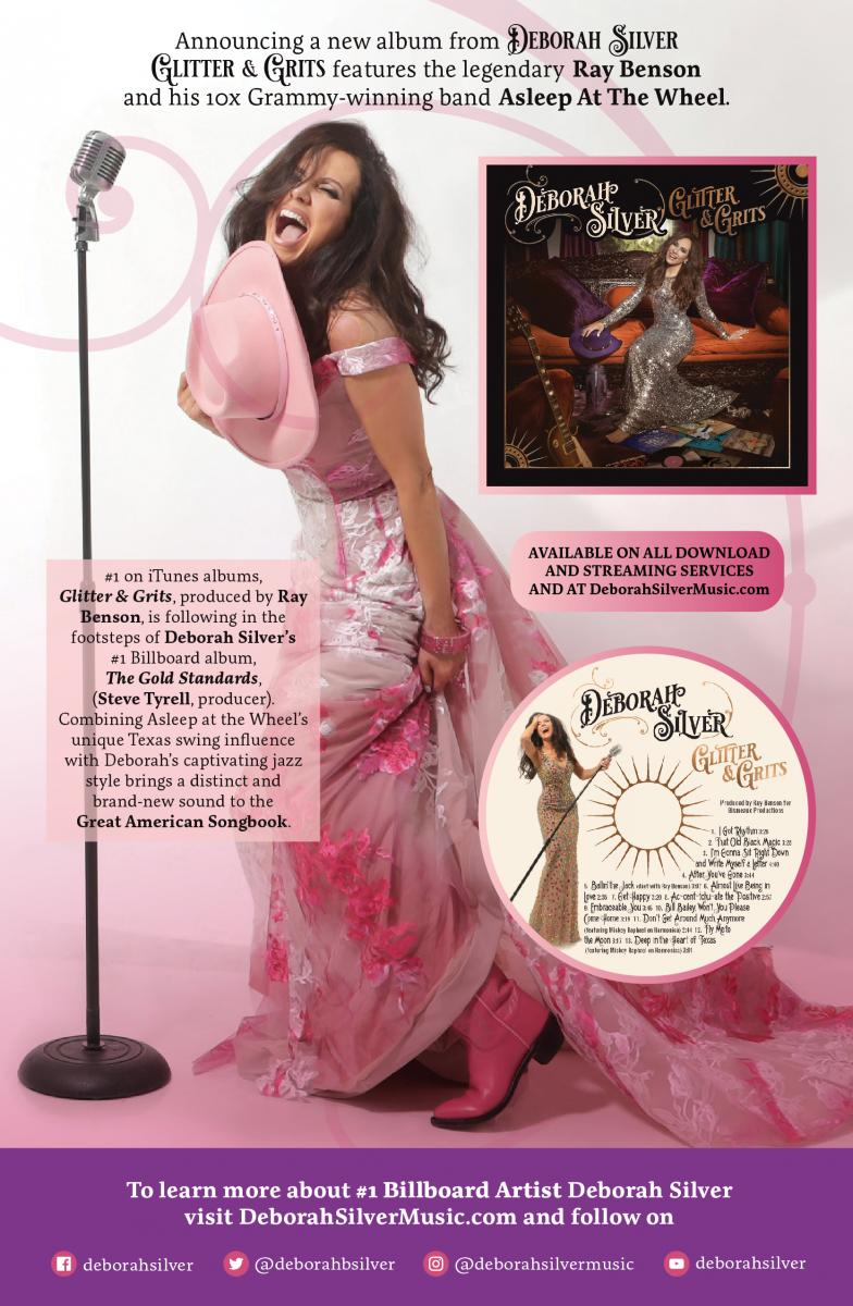 BWW CD Review: Deborah Silver GLITTER AND GRITS Swings, Sings and Shines Like Stars In a Texas Sky