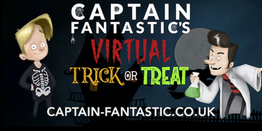 Guest Blog: Tommy Balaam On Halloween Family Fun With CAPTAIN FANTASTIC'S VIRTUAL TRICK OR Photo