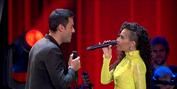 BWW TV: Carlos Rivera y Daniela Pobega se reúnen en LA VOZ Photo