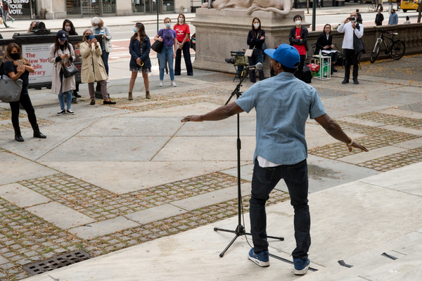 Photo Flash: Daniel J. Watts, Min Jin Lee and More Take Part in NYCNext Pop-Up Performance