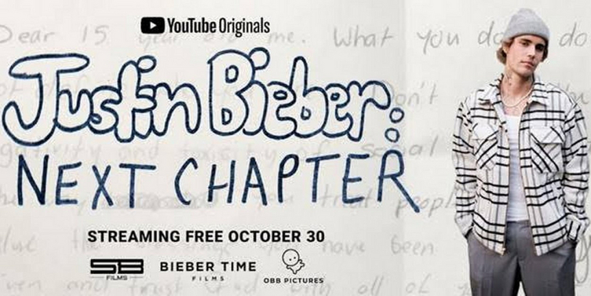 YouTube Originals Announces JUSTIN BIEBER: NEXT CHAPTER Premiering October 30 Photo