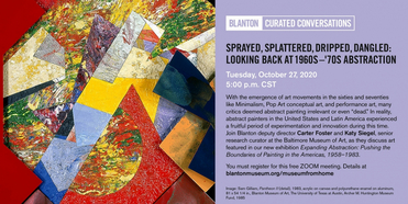 Blanton Museum of Art Presents Curated Conversations This Week Photo