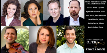 Charlottesville Opera Presents Online Concert as Part of the Front Porch Series Photo