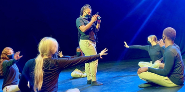 Dance, Media Arts Find New Fusion On NY Campus To Defeat COVID-19 Photo