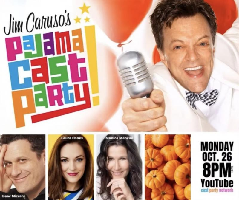 VIDEO: Watch Laura Osnes, Isaac Mizrahi & More on Jim Caruso's Pajama Cast Party