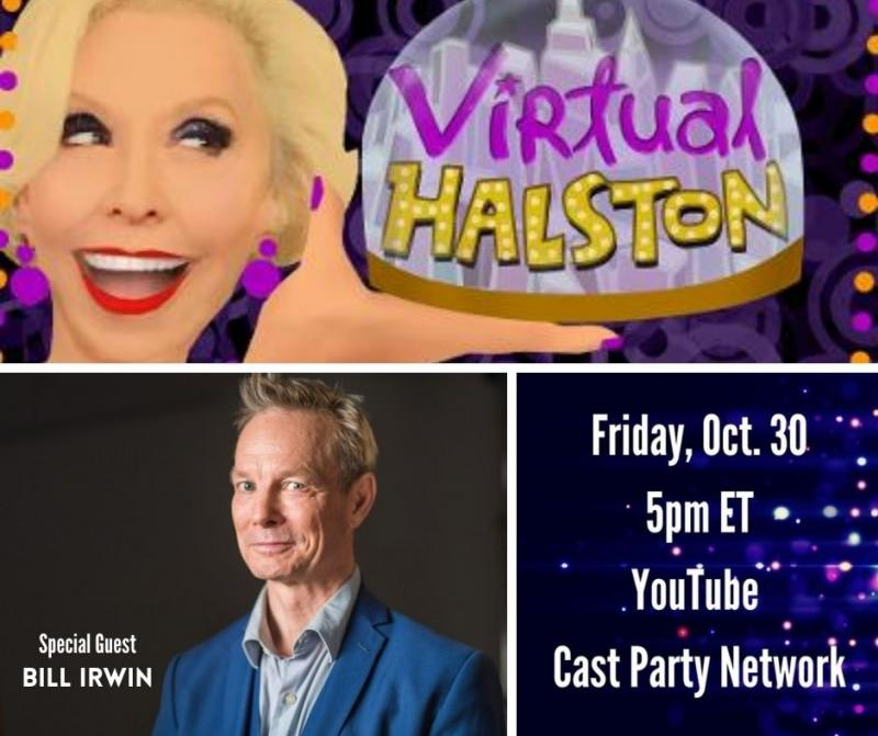 BWW Previews: Julie Halston's VIRTUAL HALSTON Returns October 30th With Special Guest Bill Irwin