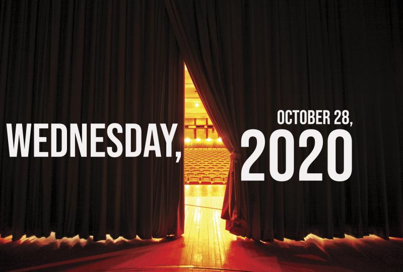 Virtual Theatre Today: Wednesday, October 28- with Rafeal Casal, Adrienne Warren, and More!