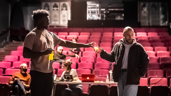 Photo Flash: Go Inside Rehearsals for GHBOY at Charing Cross Theatre