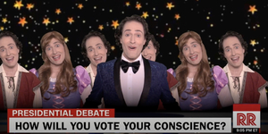 Randy Rainbow Wants to Know How You Will Vote on Tuesday Video
