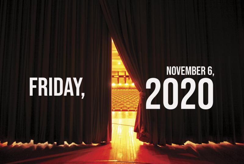 Virtual Theatre Today: Friday, November 6- with Laura Osnes, Next On Stage and More!