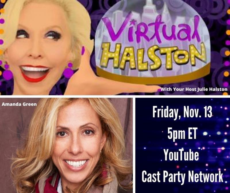 BWW Previews: Amanda Green and Julie Halston Go VIRTUAL HALSTON on November 13th