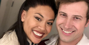 WICKED National Tour Cast Members Jon Robert Hall And Tiffany Rae Mallari Engaged Photo