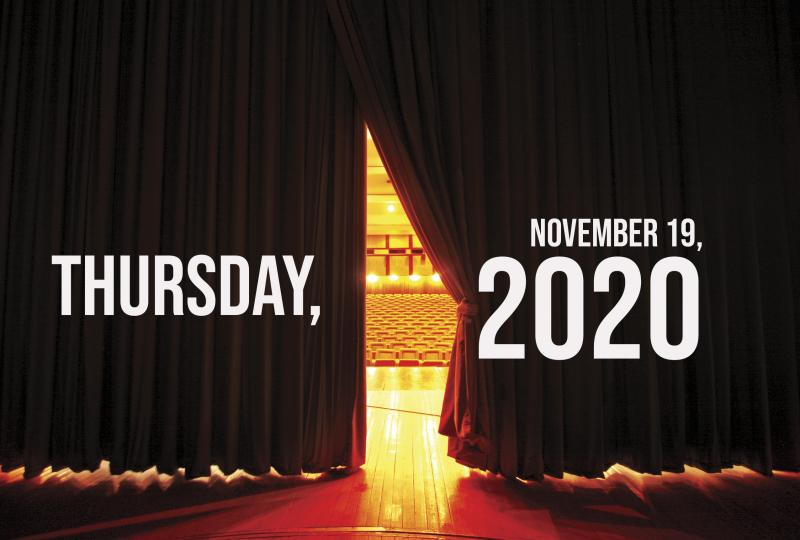 Virtual Theatre Today: Thursday, November 19- with Luba Mason, Andrew Barth Feldman and More!