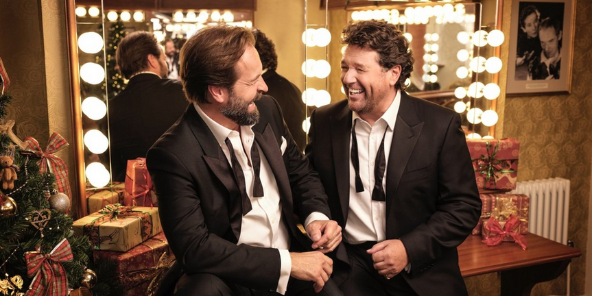 VIDEO: Michael Ball & Alfie BoeVisit Backstage LIVE with Richard Ridge- Watch Now! Photo