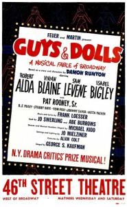 UN DÍA COMO HOY: GUYS AND DOLLS se estrenaba en Broadway