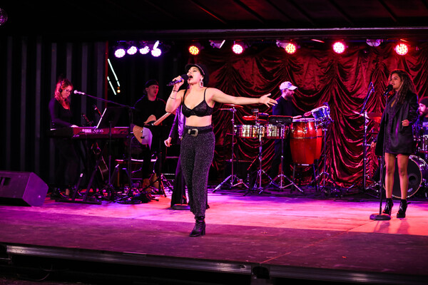 Photo Flash: Eva Noblezada Sings Selena at Radial Park