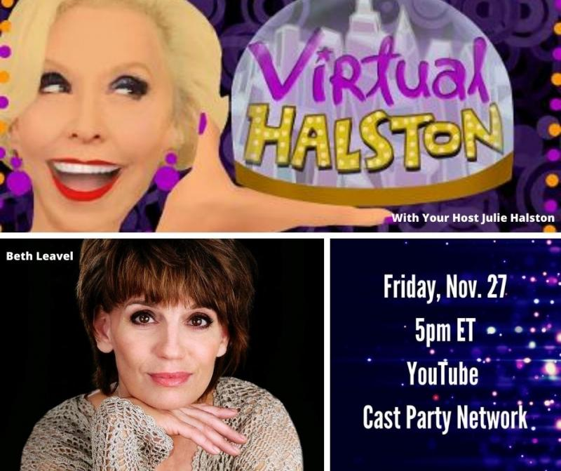 BWW Previews: Beth Leavel Stops In On VIRTUAL HALSON November 27th