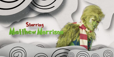 VIDEO: Get a First Look at Matthew Morrison as The Grinch in Upcoming NBC Special DR. SEUS Photo