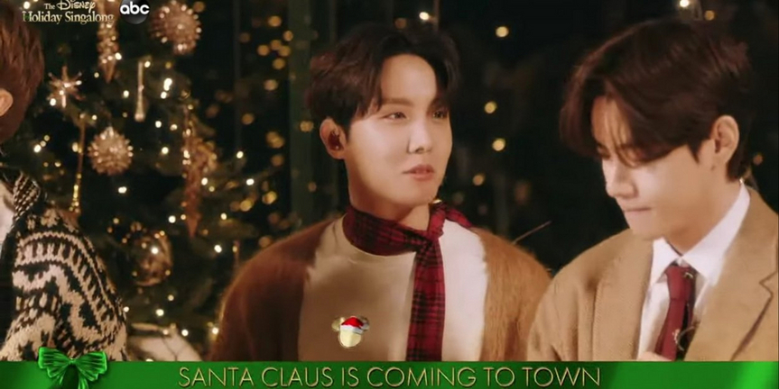 VIDEO: BTS Performs 'Santa Claus Is Coming To Town' for THE DISNEY HOLIDAY SINGALONG Photo