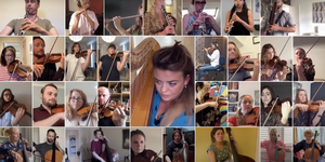 West End Musicians Perform a Medley of Musical Overtures Video