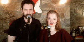 Exclusive: Patti Murin and Colin Donnell Sing 'White Christmas' as Part of the Seth Concer Photo