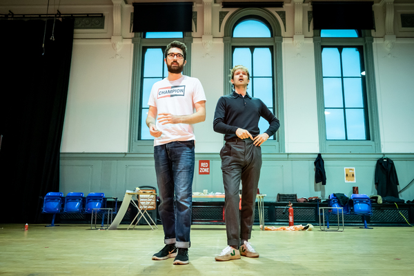 Photo Flash: Inside Rehearsal For THE COMEBACK at the Noel Coward Theatre