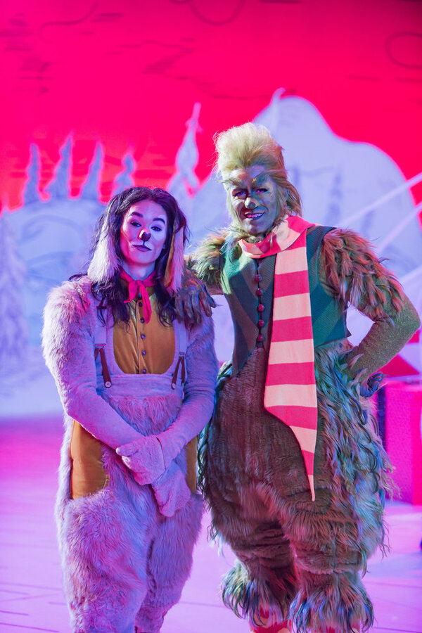 DR. SUESS' THE GRINCH MUSICAL -- Pictured: (l-r) Booboo Stewart as Young Max, Matthew Photo
