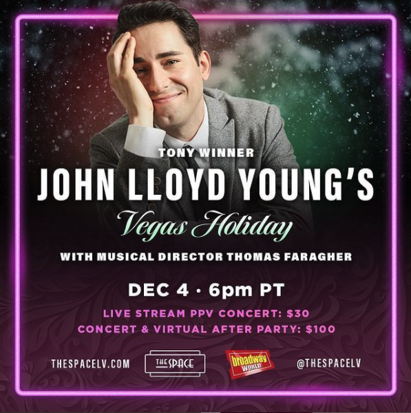 Podcast: BroadwayRadio Chats with John Lloyd Young about his Vegas Holiday Concert, Arts Advocacy, More