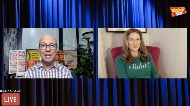 VIDEO: Ana Gasteyer Visits Backstage LIVE with Richard Ridge- Watch Now!