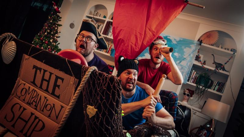BWW Interview: The Sleeping Trees Chat THE LEGEND OF MOBY DICK WHITTINGTON, Online