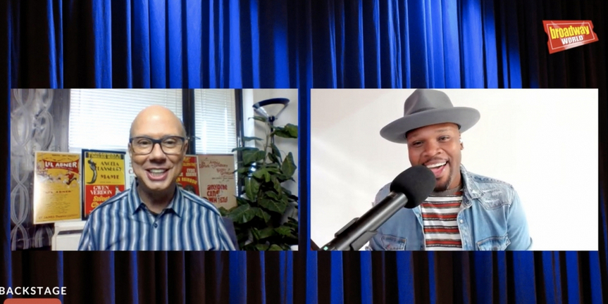 VIDEO: Michael James Scott Visits Backstage LIVE with Richard Ridge- Watch Now! Photo