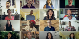 Original RENT Cast Members Reunite to Perform 'Seasons of Love' Video