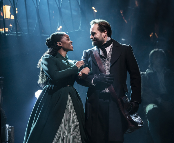 Alfie Boe and Amara Okereke Photo