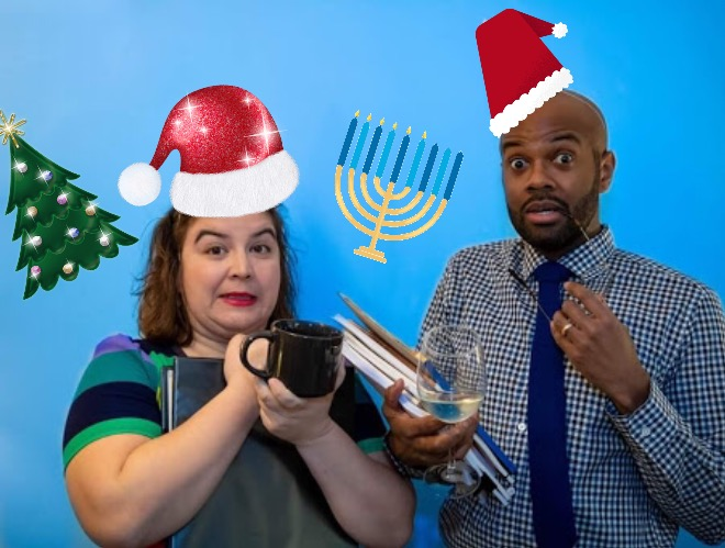 BWW Previews: MOY-BORGEN & BOURNE'S OFFICE PARTY Presents Holiday Episode December 8