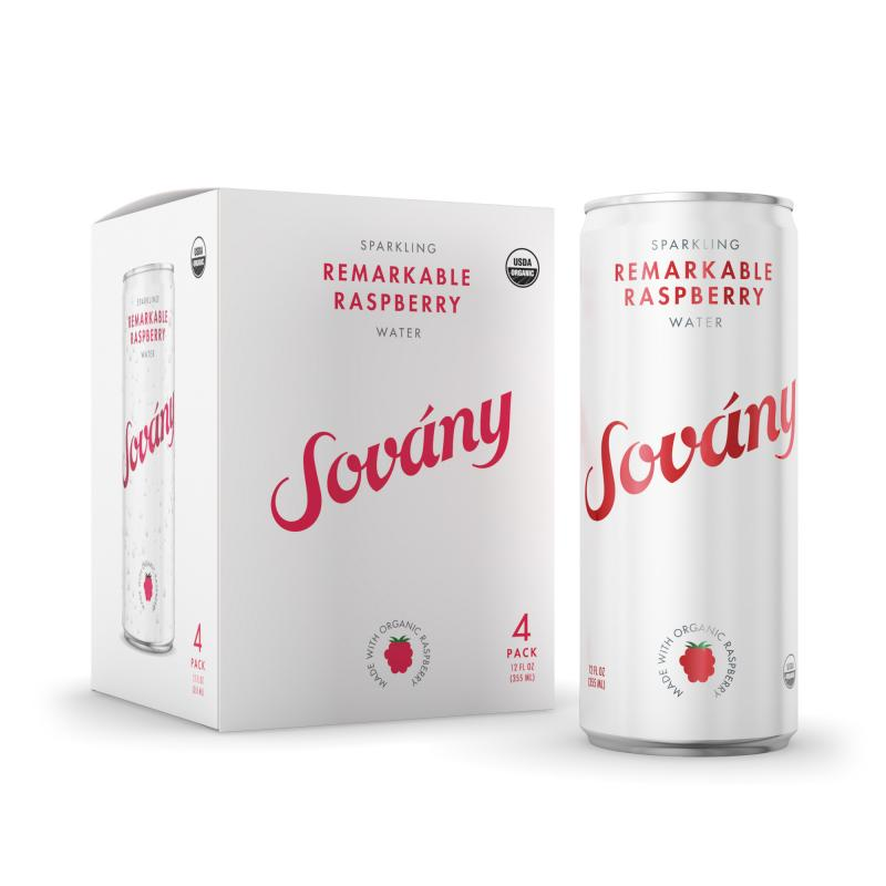 SOVANY Announces Sparkling Water Made with Organic Fruit