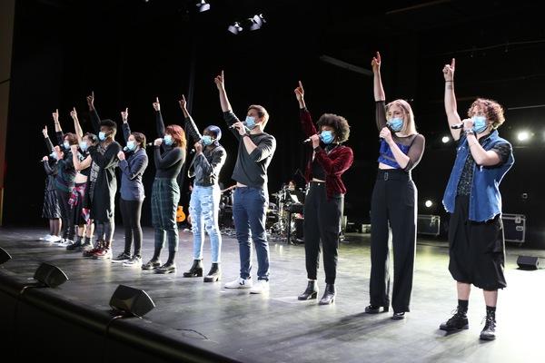 Photo Flash: See Elizabeth Stanley, Celia Rose Gooding, Derek Klena, Lauren Patten and More in JAGGED LIVE IN NYC