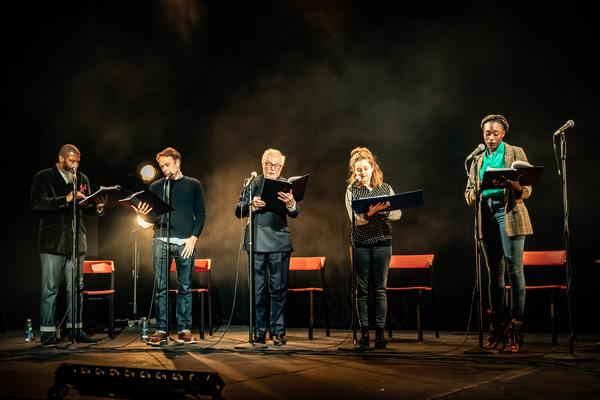Photo Flash: Sir Derek Jacobi, Sam Tutty, Jessica Hynes, Simon Callow and More Perform at Riverside Studios