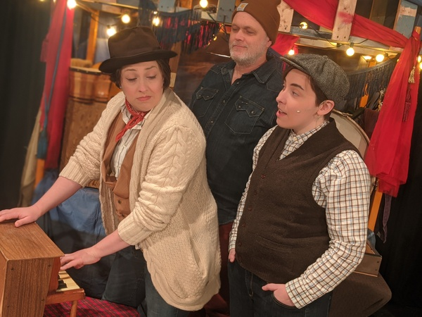 Photo Flash: A CHRISTMAS CAROL Extended at Open Stage!