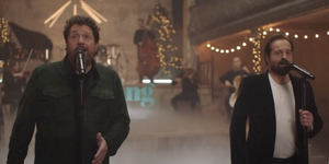 Michael Ball and Alfie Boe Perform 'White Christmas' Video