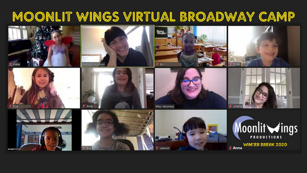Broadway Star Brandon Hudson makes a guest appearance at Moonlit Wings Productions Vi Photo