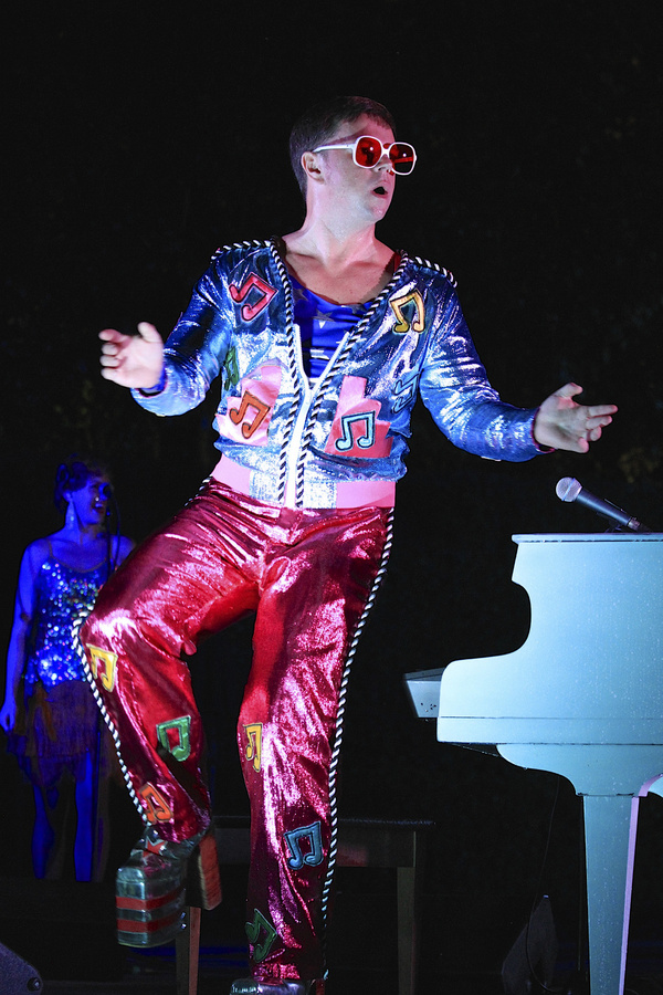 Photo Flash: THE ROCKET MAN SHOW Returns to the Athens Theatre, January 8