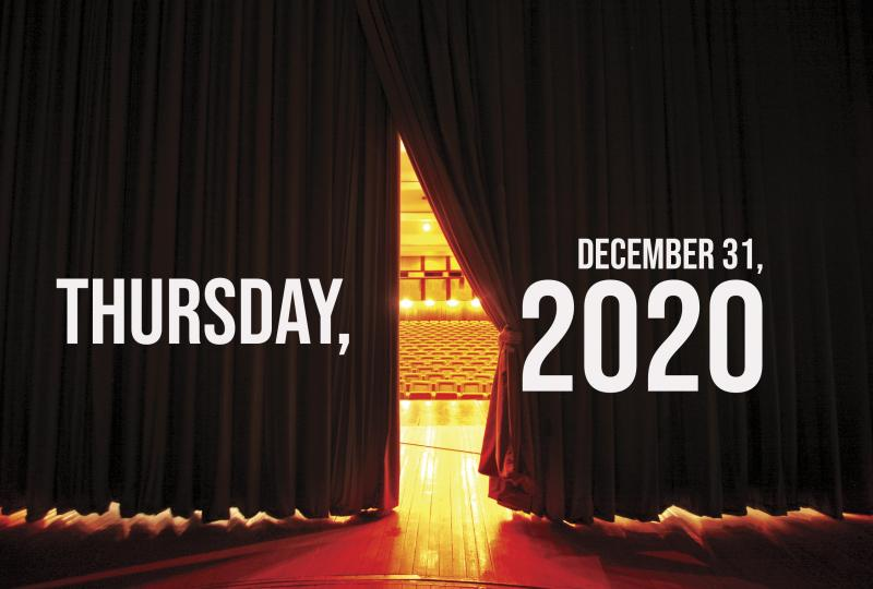Virtual Theatre Today: Thursday, December 31- What Are You Streaming New Year's Eve?