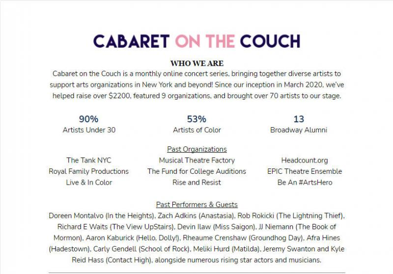 BWW Interview: Ian McQueen of CABARET ON THE COUCH