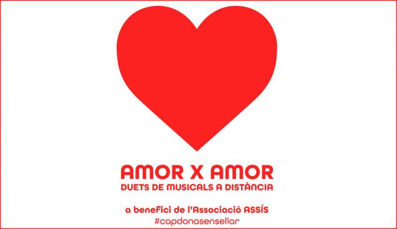 AMOR X AMOR hará del día de San Valentía el día de los duetos a distancia