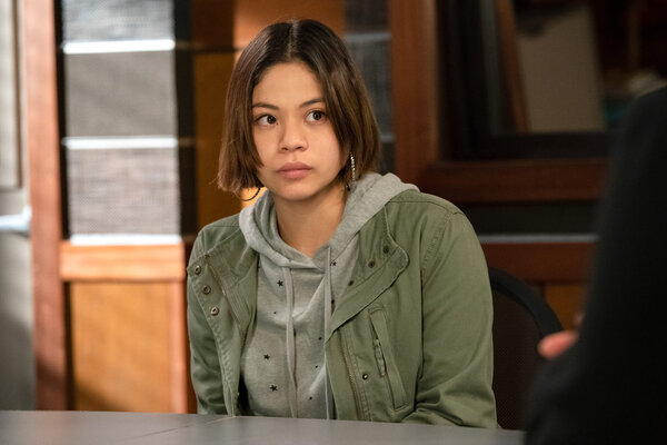 Photo Flash: Get a First Look at Eva Noblezada and Alex Brightman on LAW & ORDER: SVU