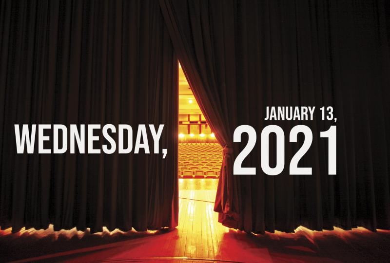 Virtual Theatre Today: Wednesday, January 13- with Kelli O'Hara, Marty Thomas, and More!