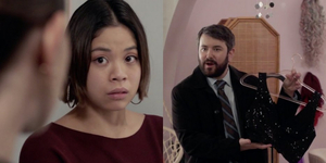 BWW Exclusive: Eva Noblezada & Alex Brightman Star in a Clip From SVU Video