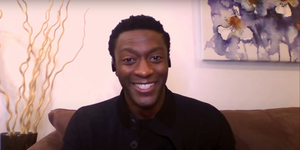 Aldis Hodge Talks Playing Jim Brown in ONE NIGHT IN MIAMI Video